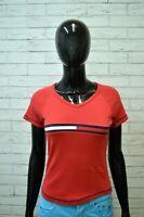 Maglia Donna TOMMY HILFIGER Taglia XS Polo Manica Corta Shirt Woman Jersey Frau