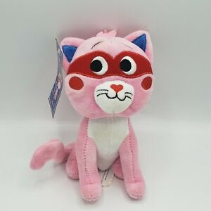 Pink Kitty Mask Cat Plush Heart Animated Talking 'You Stole It And You Know It'