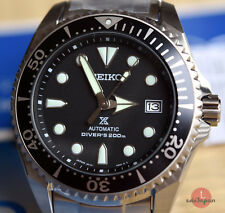 Seiko SBDC029 SHOGUN TITANIUM negro/black Prospex 200m Diver. Made in JAPAN!