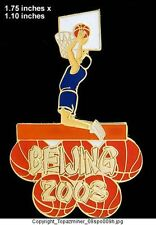 OLYMPIC PIN Beijing China 2008 SPORT BASKETBALL 1/100HG