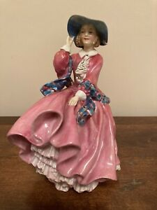 """EARLY ROYAL DOULTON """"TOP O' THE HILL"""" H.N 1849 FIGURINE 7""""  A/F For Restoration"""