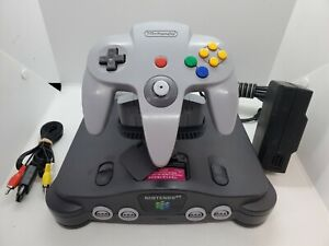 Nintendo 64 N64 OEM Console Complete with Controller Tested all Cords