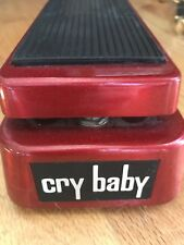 Cry Baby Wah Pedal - red - RARE!
