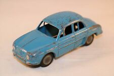 Lion Car Renault Dauphine blue in good plus original condition made in Holland