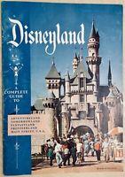 1957 Disneyland Complete Guide Booklet original Walt Disney Excellent Condition