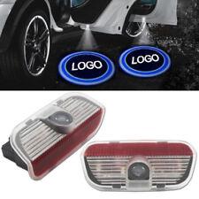 2 FOR Volkswagen Door Projector Vw Logo Led Light Step Car Welcome Warning Laser