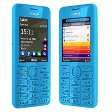Nokia 206 Dual SIM MP3 Original Unlocked 1.3MP Camera 2.4''  BLUE Mobile Phone