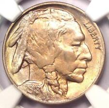 1918-D Buffalo Nickel 5C - NGC Uncirculated Details (MS UNC) - Rare Date Coin!
