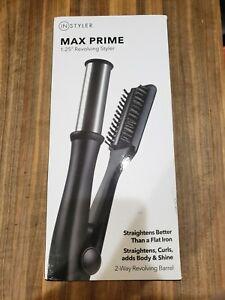 "InStyler MAX Prime 1.25"" 2-Way Rotating Tourmaline Ceramic Iron Blowout Style"