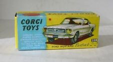 Repro Box Corgi Nr.320 Ford Mustang Fastback