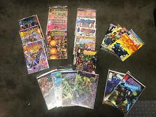 21 mid 1990's comics most bag/boarded- Wildcat,CyberForce,StormW atch, Union, etc