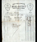 """SAINT-JEAN-des-OLLIERES (63) RUBANS & ARTICLES de BLANC """"BEAL & GOURCY"""" en 1890"""