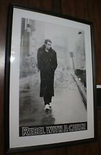"Autographed John McEnroe ""Rebel With A Cause"" Framed And Matted Nike Poster"
