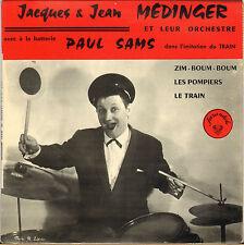 """LES FRERES MEDINGER """"ZIM-BOUM-BOUM"""" 60'S EP FARANDOLE, Dédicacé !"""