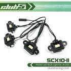 FRONT LED Rock Light Kit for Axial SCX10 II UMG10 / Enduro Sendero HD ( 4 LEDs )