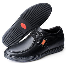 GOG Men's Black Casual Genuine Leather Lined Shoes in US Size 8  EU Size 42
