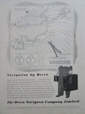 2/1946 PUB DECCA NAVIGATOR NAVIGATIONAL SYSTEM DECOMETER ORIGINAL AD