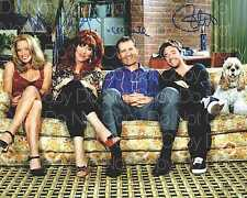 Married with Children signed x4 O'Neill 8X10 photo picture poster autograph RP