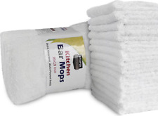 Utopia Towels 12 Pack Kitchen Bar Mop Towels 16 x 19 inches, White Bar UT0043