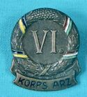 KORPS ARZ VI  PRUSSIAN WWI German GERMANY AUSTRIA-HUNGARY PIN BADGE MILITARY