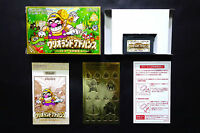 WARIO LAND warioland + stickers GAME BOY ADVANCE GBA JAPAN Very Good Condition !