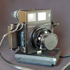 Mamiya Universal Polaroid Medium Format Camera, Roll Film Back, 2 Lenses, Nice!