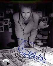 John Lydon Johnny Rotten Signed SEX PISTOLS 8x10 Photo EXACT Proof JSA B