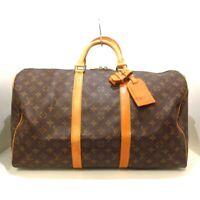 Auth LOUIS VUITTON Keepall 50 M41426 Monogram VI882 Boston Bag