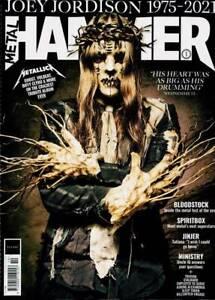 METAL HAMMER MAGAZINE OCTOBER 2021 (JOEY JORDISON, METALLICA, SPIRITBOX, JINJER