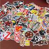 100Pcs Stickers Skateboard Sticker Graffiti Laptop Luggage Car Decals Sun-proof