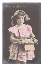 Photo Pc cute girl with Easter eggs P0365