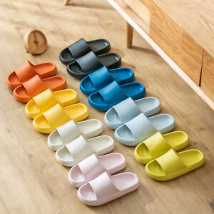 New Pillow Slides Sandals Ultra-Soft Slippers Extra Soft Cloud Shoes Anti-Slip