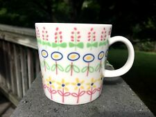 Superb Arabia Finland Porcelain Suomen Kukka Monivarinen Flowers Mug