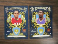2009-10 Panini Crown Royale Royalty #10 17 Joe Johnson Stoudemire 2 Card Lot B24