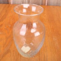 Clear Indiana Glass Co Flower Vase