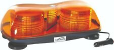 LED 12/24V MAGNETIC TWIN BEACON AMBER LIGHT BAR - CHEAPEST ON EBAY !