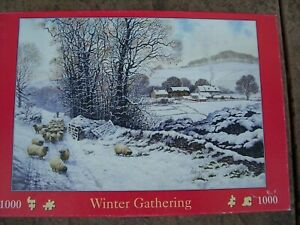 From The House Of Puzzles Winter Gathering 1000 x Piece Jigsaw Puzzle