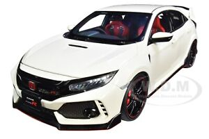 HONDA CIVIC TYPE R (FK8) CHAMPIONSHIP WHITE 1/18 MODEL CAR BY AUTOART 73266