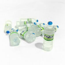 100Pcs Dollhouse Volvic Bottled Mineral Water 1:6 Miniature Drink Accessories D
