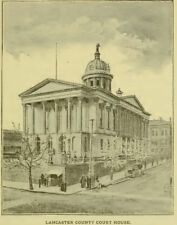 Lancaster, PA Pennsylvania History Culture Biography Genealogy 15 Book Set D161