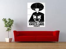 Free Angela Davis droit civil black panther géant ART PRINT POSTER panneau nor0401