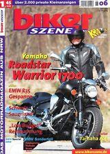BS0306 + YAMAHA Road Star Warrior 1700 + YAMAHA AS 1 + biker SZENE 6/2003