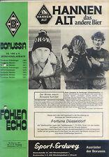 BL 77/78 Borussia Mönchengladbach - Fortuna Düsseldorf (18.02.1978)