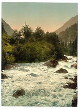 Lutschinen Valley Bernese Oberland A4 Photo Print