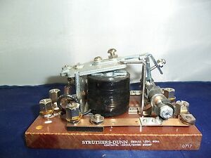 STRUTHERS-DUNN, Relay, C85AXA, 120 V, 60 Hz