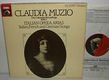 EX 29 0163 3 Claudia Muzio Opera Arias The 1934-5 Columbia Recordings 2LP Box