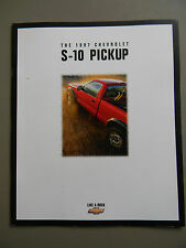 1997 Chevy S-10 Sales Brochure