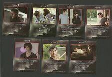 Bella and  Edward Cullen Kristen Stewart Robert Pattinson Twilight Fab Card LOT