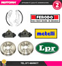 KIT39 Kit ganasce+2cilindretti freno+2 tamburo freno post Fiat-Lancia