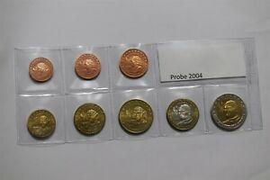 POLAND 2004 FANTASY EURO PATTERN COIN SET B36 #60